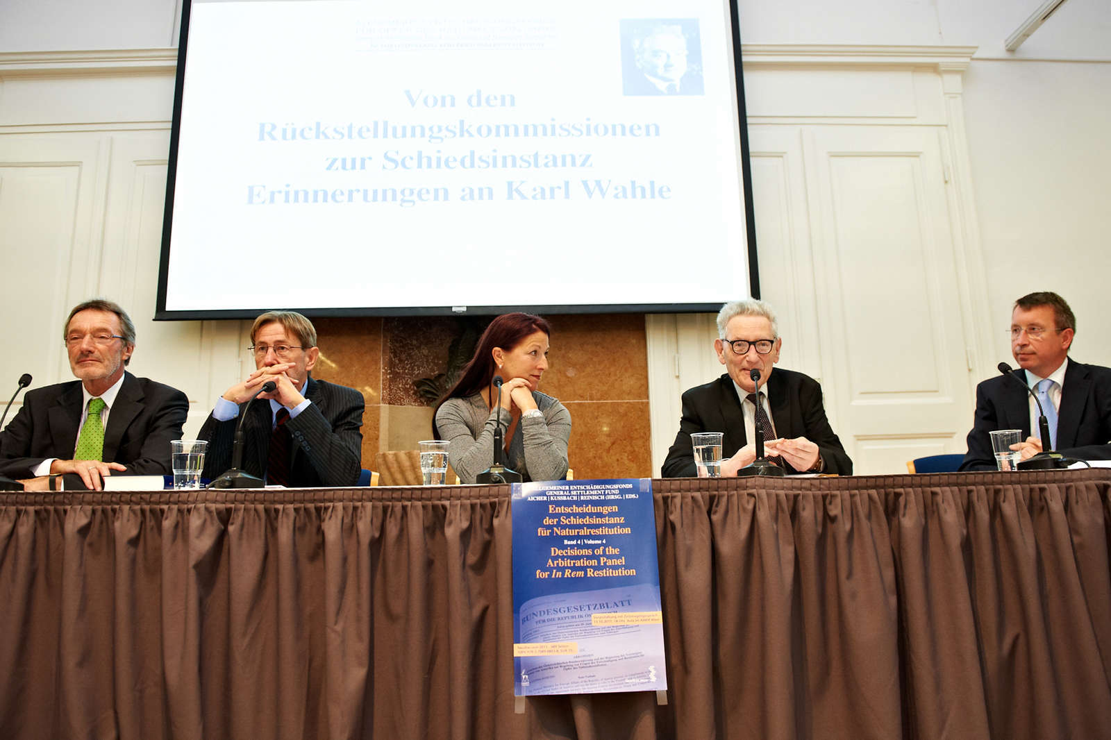 From the Restitution Commissions to the Arbitration Panel - Recollecting Karl Wahle